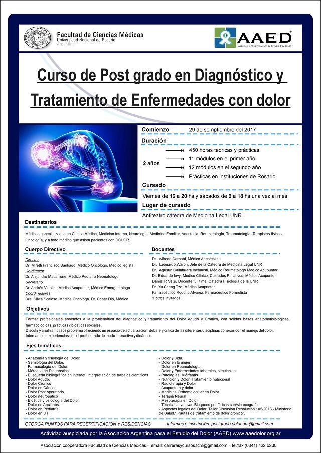 Diagnóstico y Tratamiento de Enfermedades con Dolor - IntraMed - Eventos