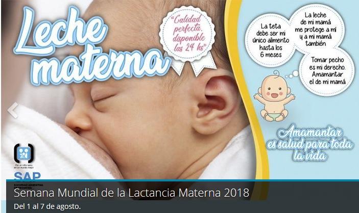 9a732d665 Semana Mundial de la Lactancia Materna - Noticias médicas - IntraMed