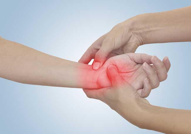 La mano con dolor y hormigueo - Artículos - IntraMed