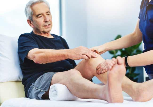 Rigidez muscular en ancianos