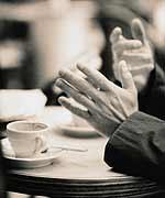 Los gestos podrían ayudar al cerebro a 'ver'