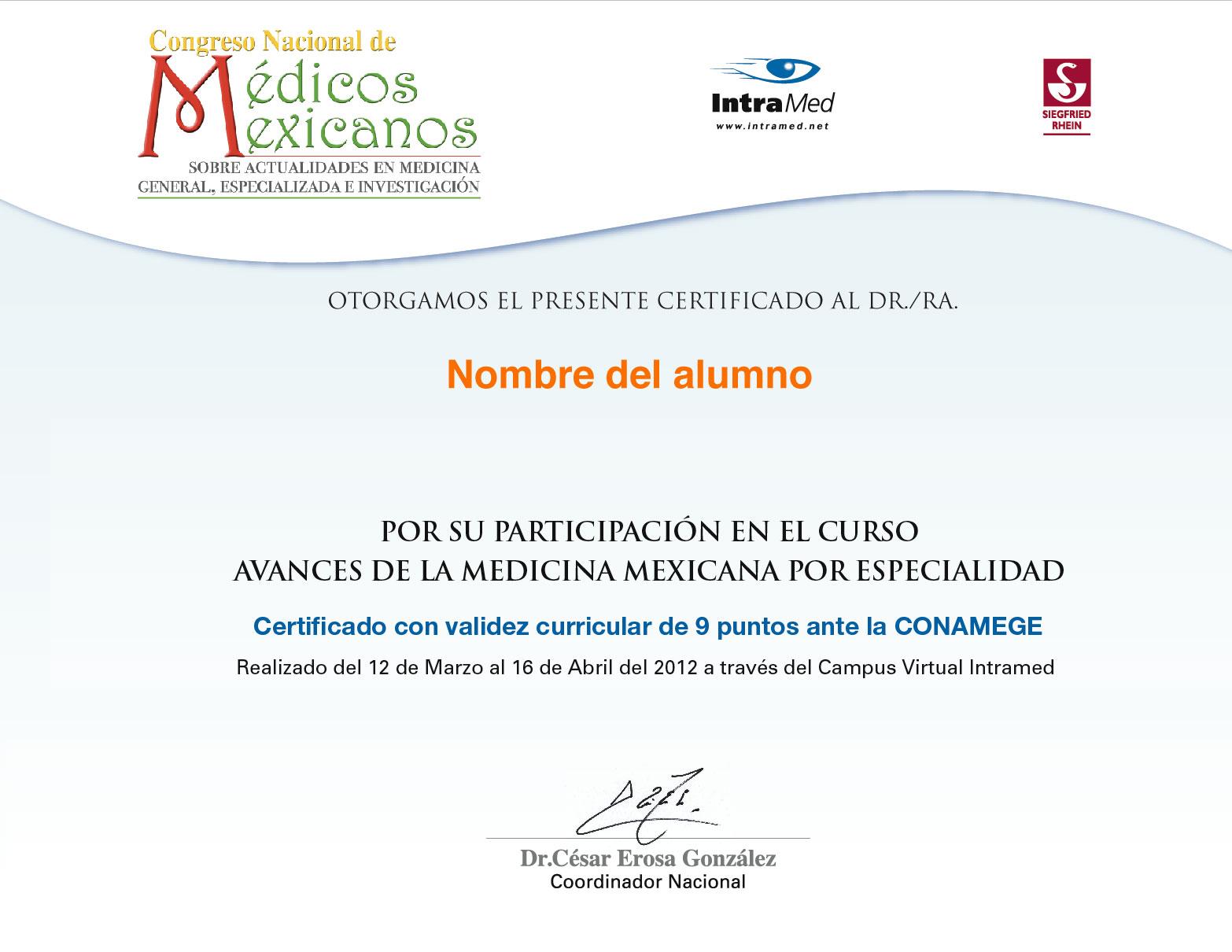 Congreso Nacional de Médicos Mexicanos - IntraMed - Eventos