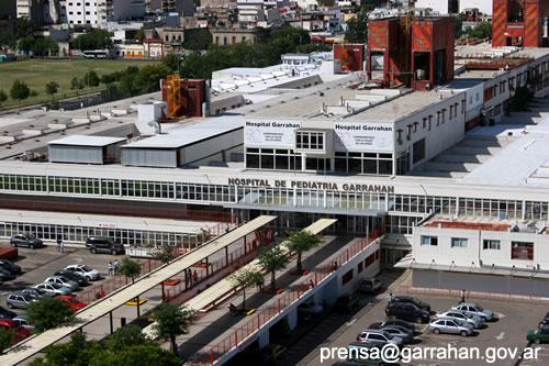 Resultado de imagen para hospital pediátrico Juan P. Garrahan