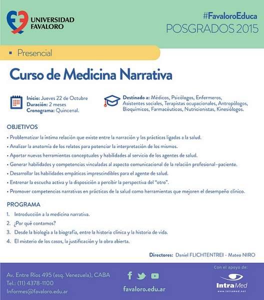 Medicina Narrativa Foro
