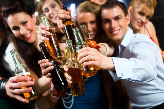 La dependencia del alcohol y la hierba